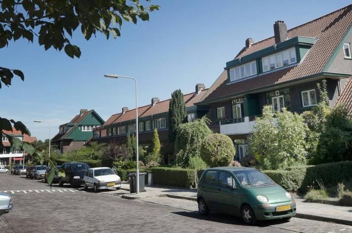 Huizen van de Woningbouwverening voor Ambtenaren te Arnhem.