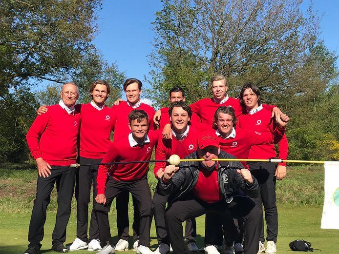 Het team van golfclub Rosendaelsche.