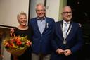 Harrie Besselink (midden) neemt afscheid als voorzitter van NEO en heeft nu meer tijd voor zijn gezin.