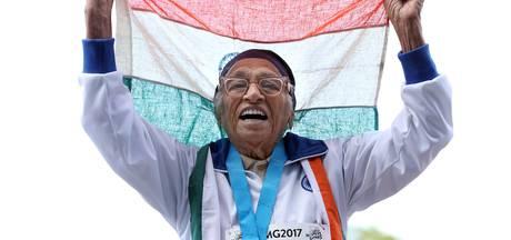 101-jarige wint goud op 100 meter sprint