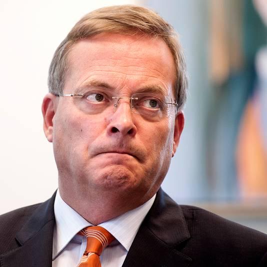 De vertrokken burgemeester van Oosterhout, Stefan Huisman.