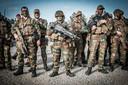 Belgische soldaten in actie in Litouwen.