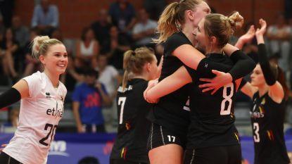Wat een stunt: Yellow Tigers kloppen wereldkampioen Servië in Women's Nations League Volley