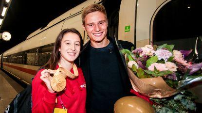 """Nina Derwael opgewacht door profvoetballer en ze ontvouwt plan voor olympisch goud: """"Oefening snel 'af' hebben"""""""