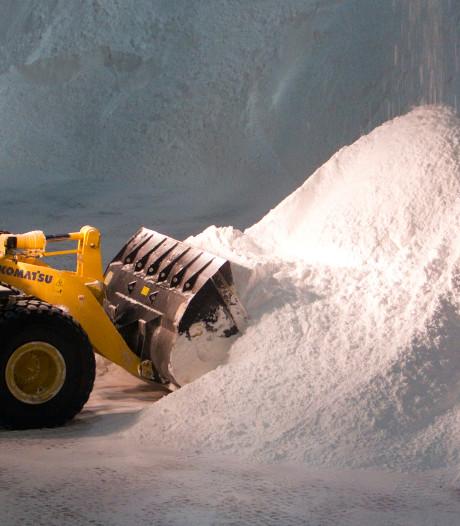 Strooien zout steeds duurder in Kampen
