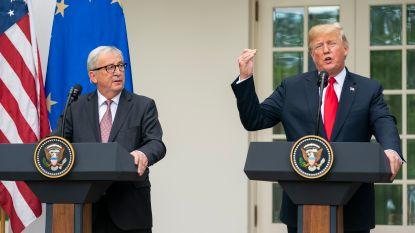 """Akkoord tussen Trump en Juncker """"stap in de goede richting"""": Duitsland is tevreden, Frankrijk en België blijven waakzaam"""