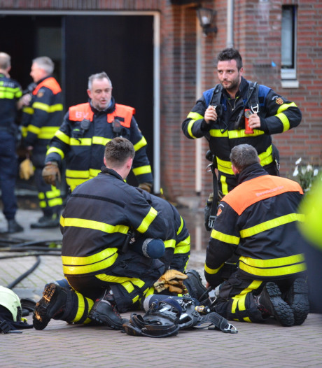 Brand in garage in Zundert snel onder controle