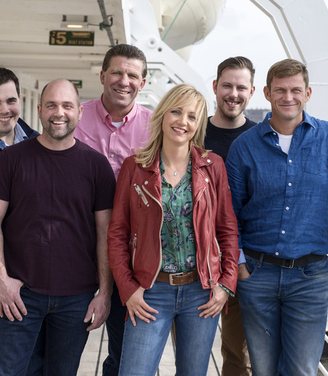 Bellen met Olke, Riks, Marc, Herman en David