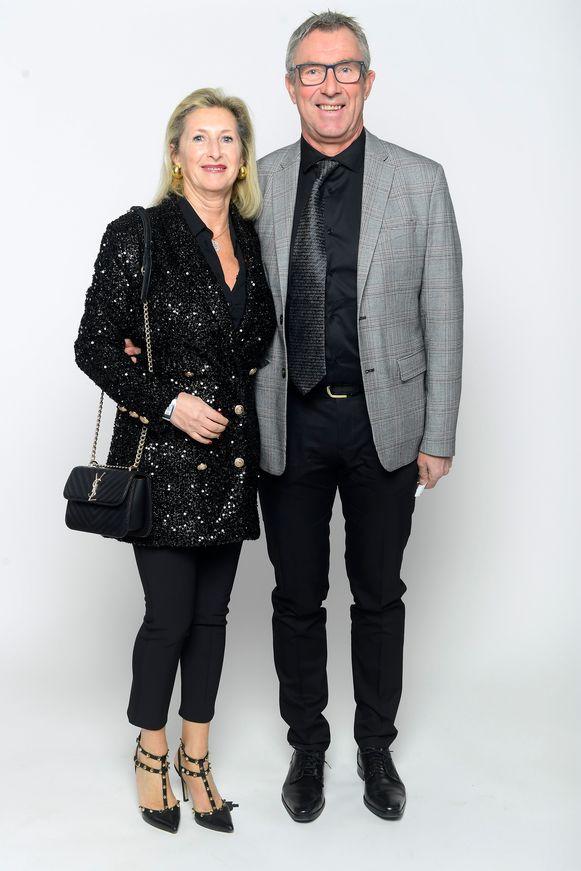 Dirk De Wolf en partner Linda Floquet