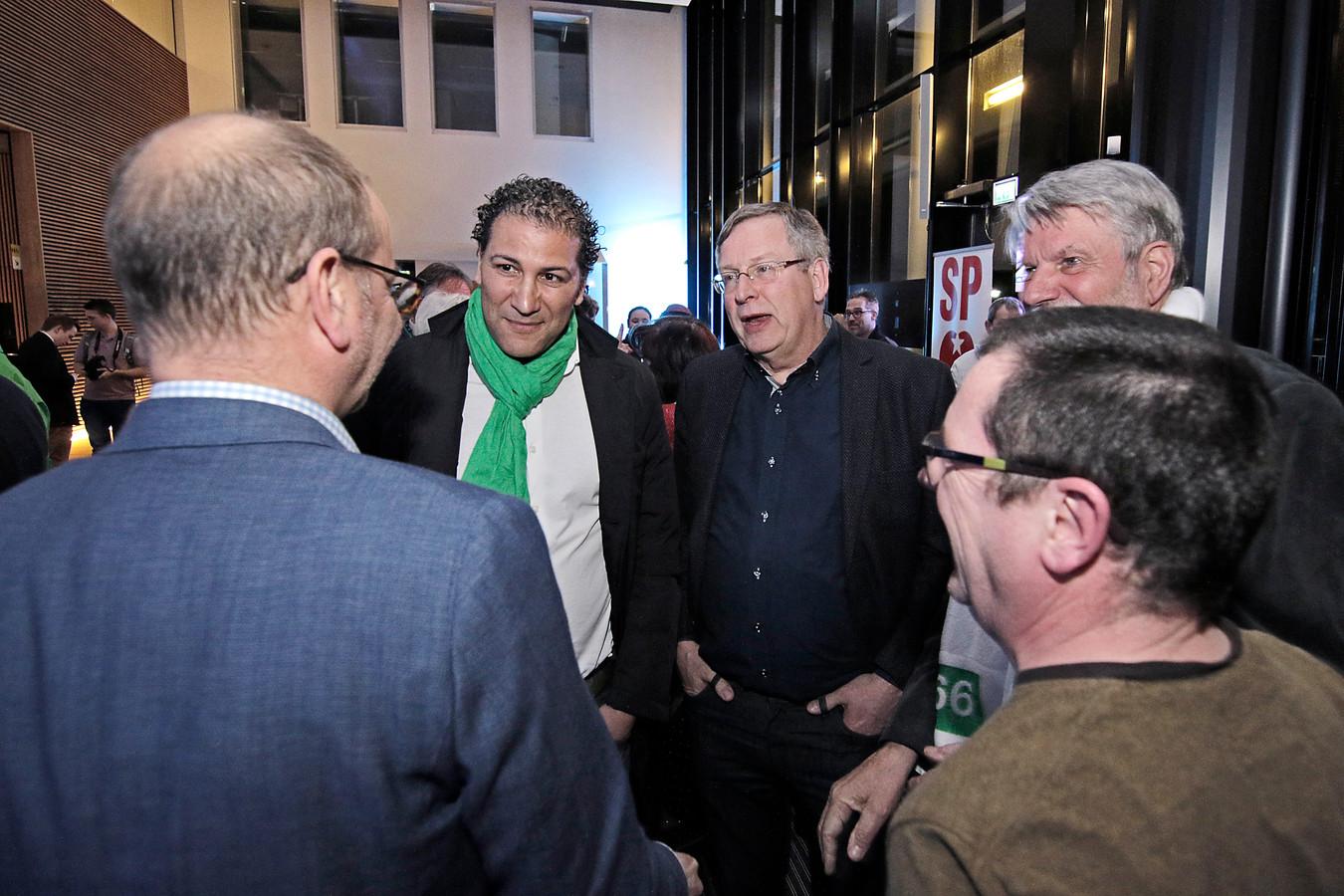 Joop van Orsouw (midden): tweede bij voorzittersverkiezing 50Plus.