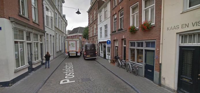Verkeer in de Postelstraat