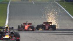 """Gênant incident zindert na bij Ferrari: """"Beide coureurs zijn schuldig aan crash"""""""