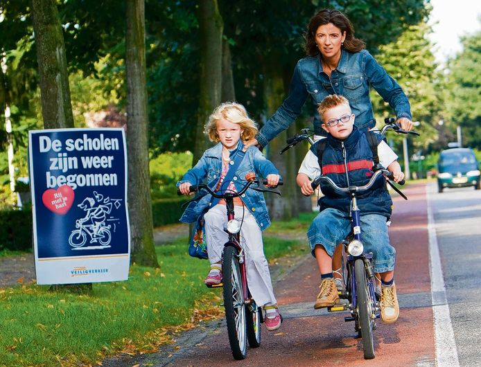 Veilig Verkeer Nederland adviseert ouders om de route alvast een keer te oefenen.