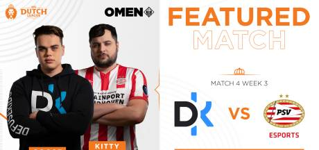 Kraker tussen PSV Esports en Defusekids in Dutch League