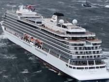 Noors cruiseschip veilig aangekomen in Noorse haven: 'Het was net de Titanic'