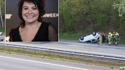 Griet Op de Beeck betrokken bij ongeval in Nederland