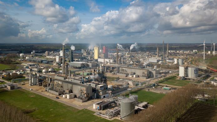Yara in Sluiskil is één van de bedrijven in de Zeeuws-Vlaamse Kanaalzone.