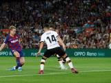Frenkie de Jong tekent voor eerste treffer bij Barça