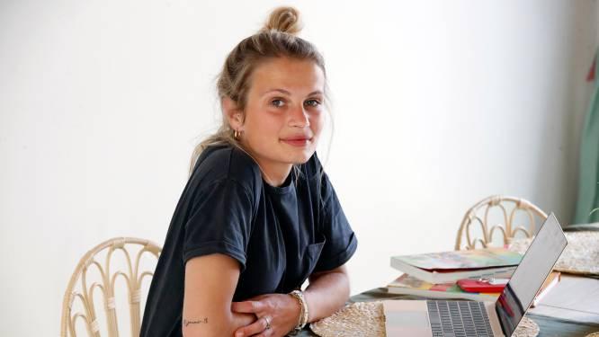 """Julie, de ex van Mathias Vergels, krabbelt terug recht: """"Ik wou zo snel mogelijk weer op eigen benen staan"""""""