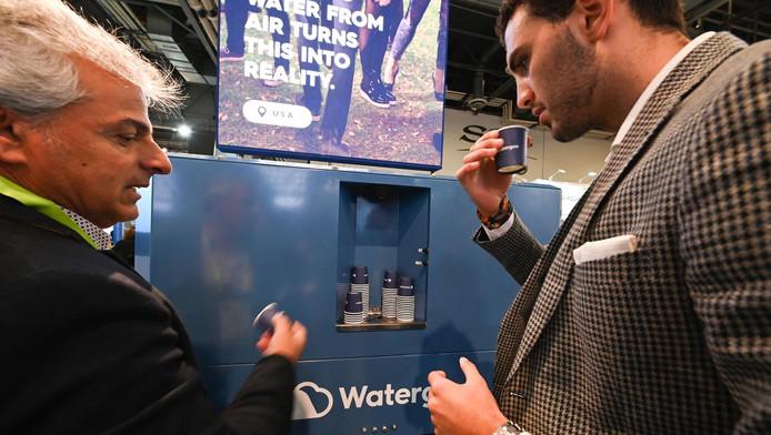 Présentation du système Watergen, à Las Vegas