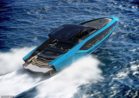 Lamborghini's speedboot
