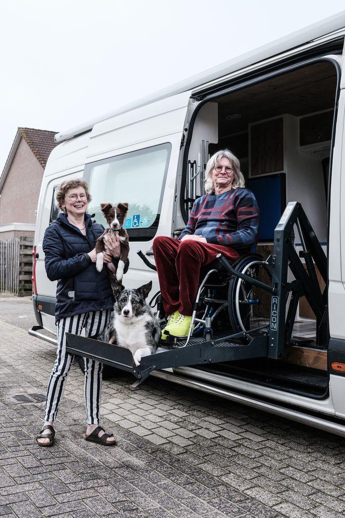Louise Brokken en Marinus de Bruijn.