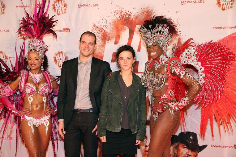 Lynn Van Royen, Kato uit 'Beau Séjour', en haar vriend Gilles.
