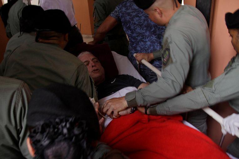 De ex-president van Panama, Ricardo Martinelli (66), is teruggekeerd naar zijn cel, nadat hij maandag in het ziekenhuis werd opgenomen vanwege een hoge bloeddruk.