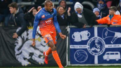 Slap AA Gent komt pas in slotfase langszij tegen Eupen, winteraanwinst Janga scoort op de valreep
