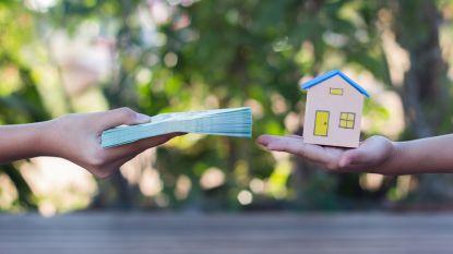 Meeste mensen betalen meer dan 800 euro af aan hun woning