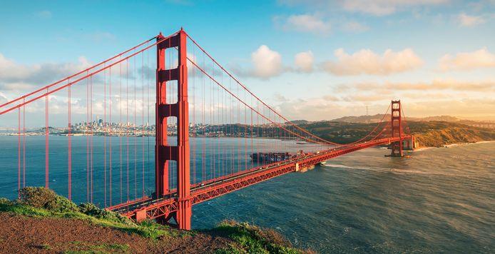 Le Golden Gate Bridge.