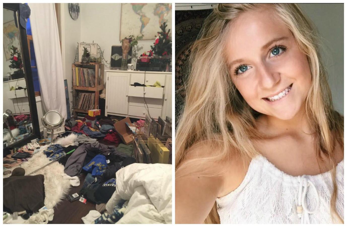 Julia 18 ontdekt op pijnlijke manier waarom ze haar kamer op moet ruimen foto - Relooker haar kamer ...