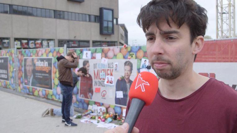 Sketch: fans treuren om Mattie en Wietze Beeld Klikbeet