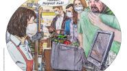 Ook burgemeester De Padt probeerde mondmaskers te verplichten in supermarkten