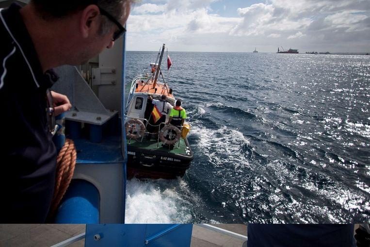 Met de neus naar open zee Beeld Ronald Veldhuizen