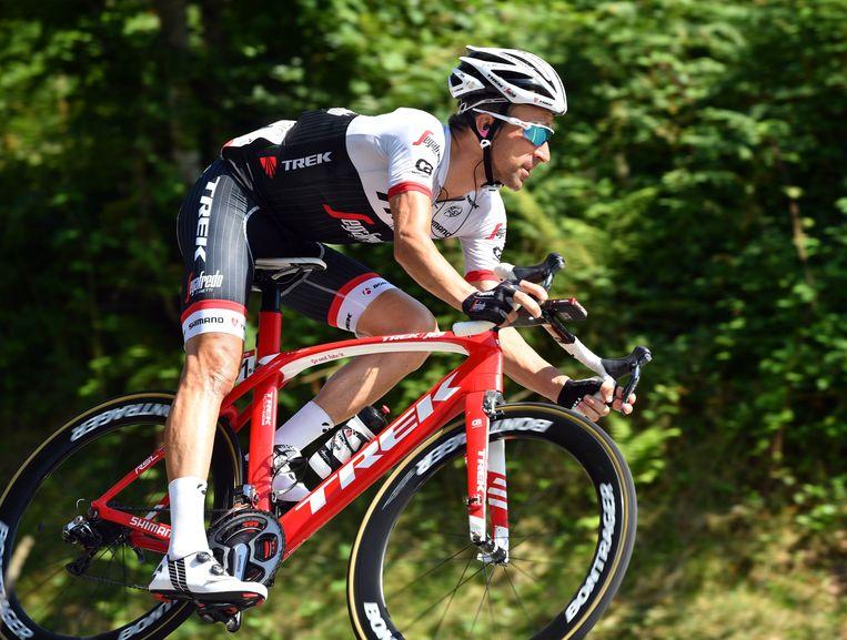Haimar Zubeldia on stage 14 of the 2016 Vuelta a España ©PHOTO NEWS