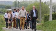 Ambassadeurs wandelen voor vrede