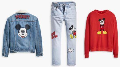 Zien: Levi's viert 90ste verjaardag van Mickey Mouse met een speciale collectie