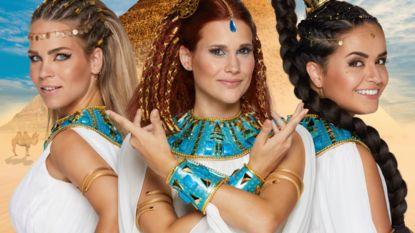 """Egyptische kostuums van K3 krijgen kritiek op Twitter: """"Kan dit nog wel in tijden van Black Lives Matter?"""""""
