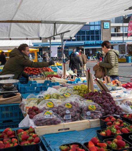 Veiligheid voorop op sfeerloze Woenselse markt