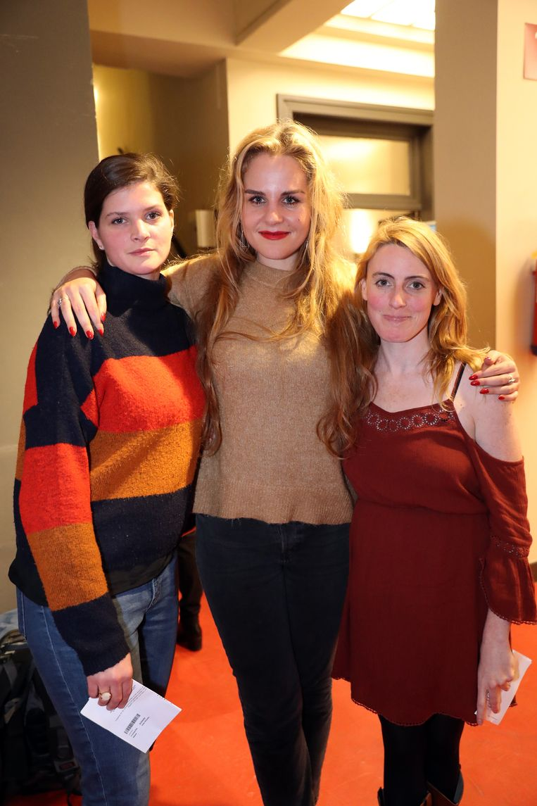 Fleur van Groningen en vriendinnen Emilie en Joke