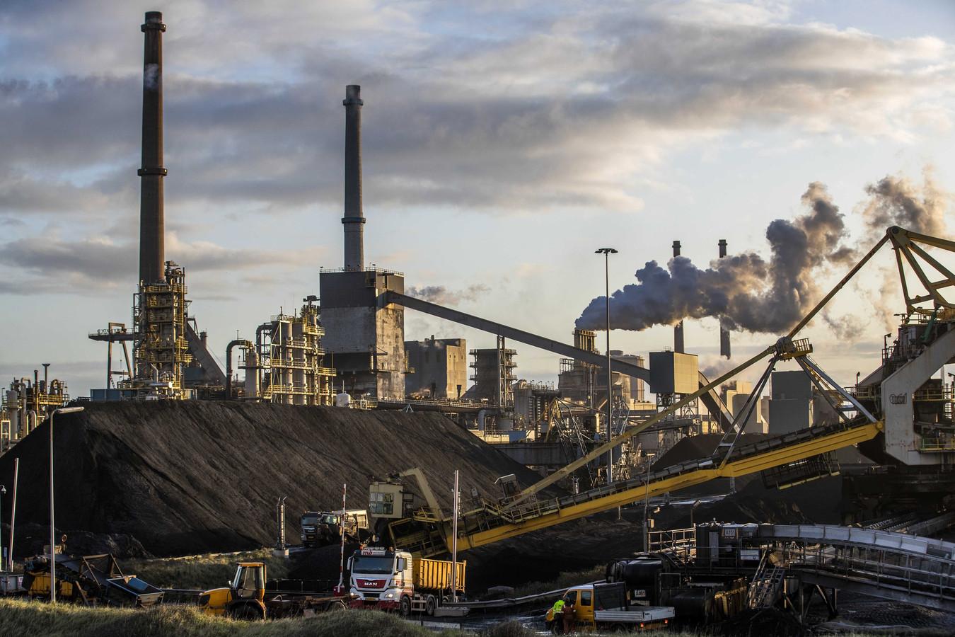 De fabriek van Tata Steel in IJmuiden.
