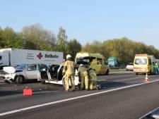Ongeval A1 richting Deventer: fileleed voorbij