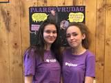 Zwolse scholieren tonen solidariteit met paarse kleding