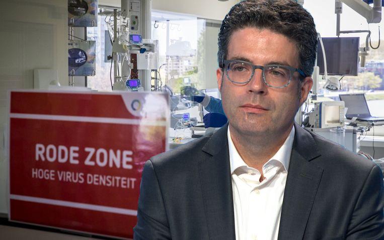 """""""We zitten op een kantelpunt"""", zegt viroloog Steven Van Gucht."""