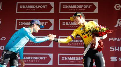 """Wout van Aert tevreden: """"Ik wist dat ik geen versnelling meer in de benen had en wilde gewoon mijn podium veilig stellen"""""""