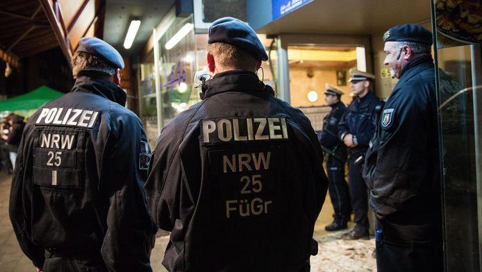 Duitse politeagenten. Foto ter illustratie.