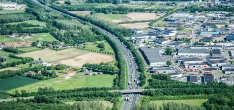 A73 enkele nachten dicht vanaf Boxmeer richting Venray