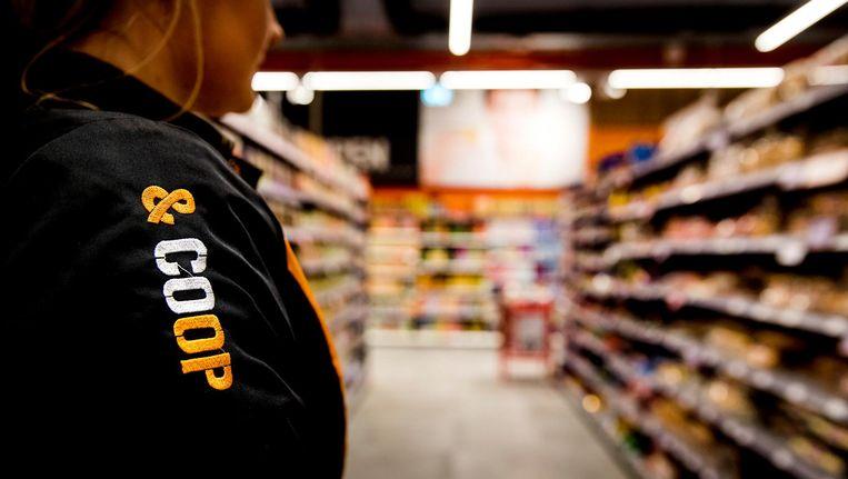 De politie is op zoek naar drie jongens die supermarkt Coop hebben overvallen Beeld ANP