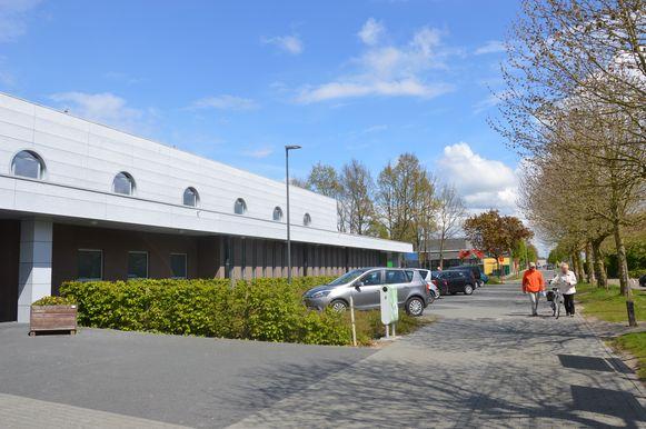 De huidige sporthal van Ninove in de Parklaan.